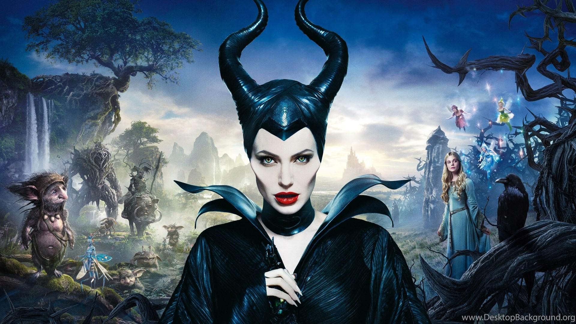 Angelina Jolie In Maleficent Wallpapers Desktop Background