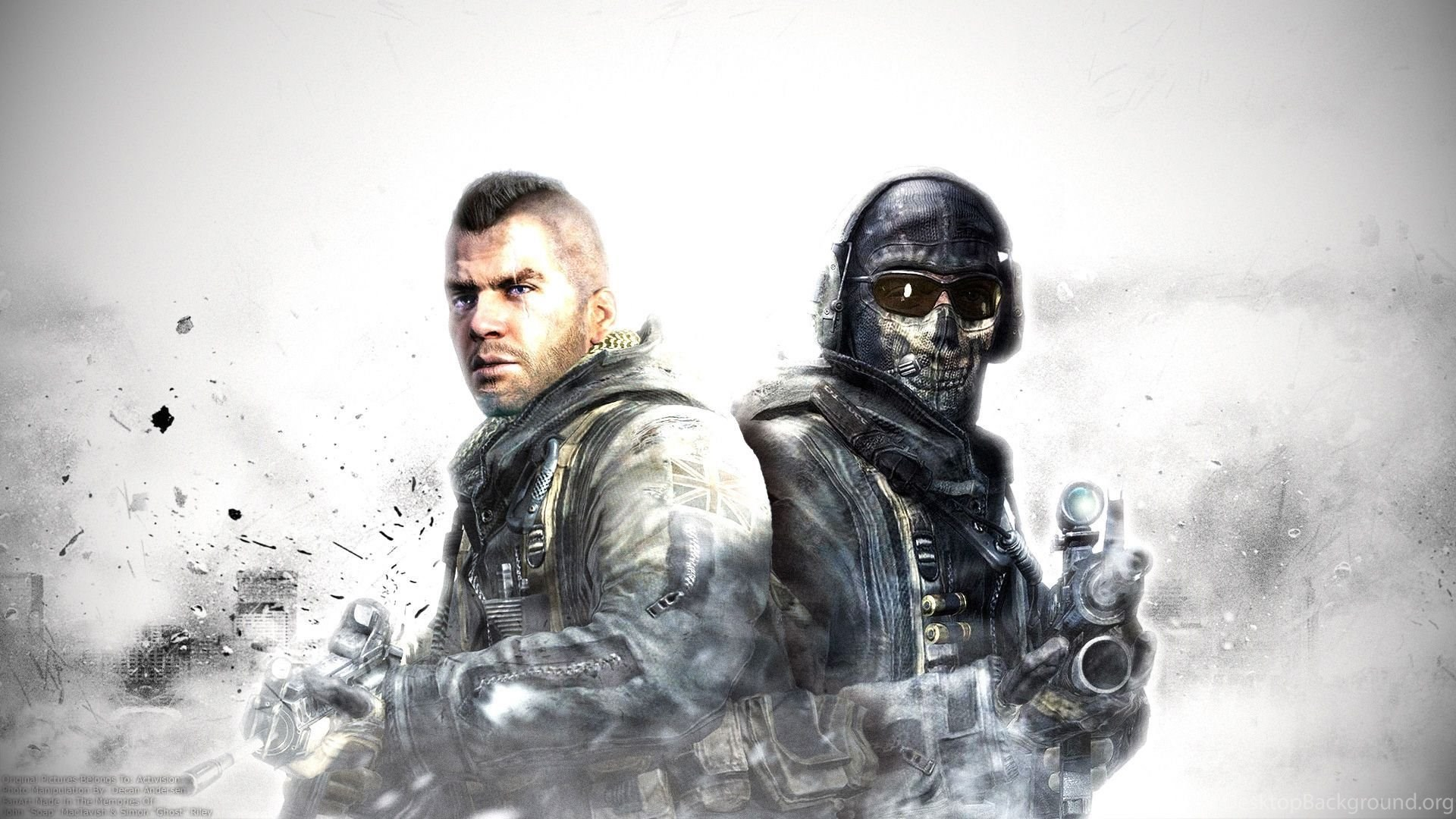 Cod Ghosts Wallpapers Call Of Duty Ghost Hd Backgrounds Desktop