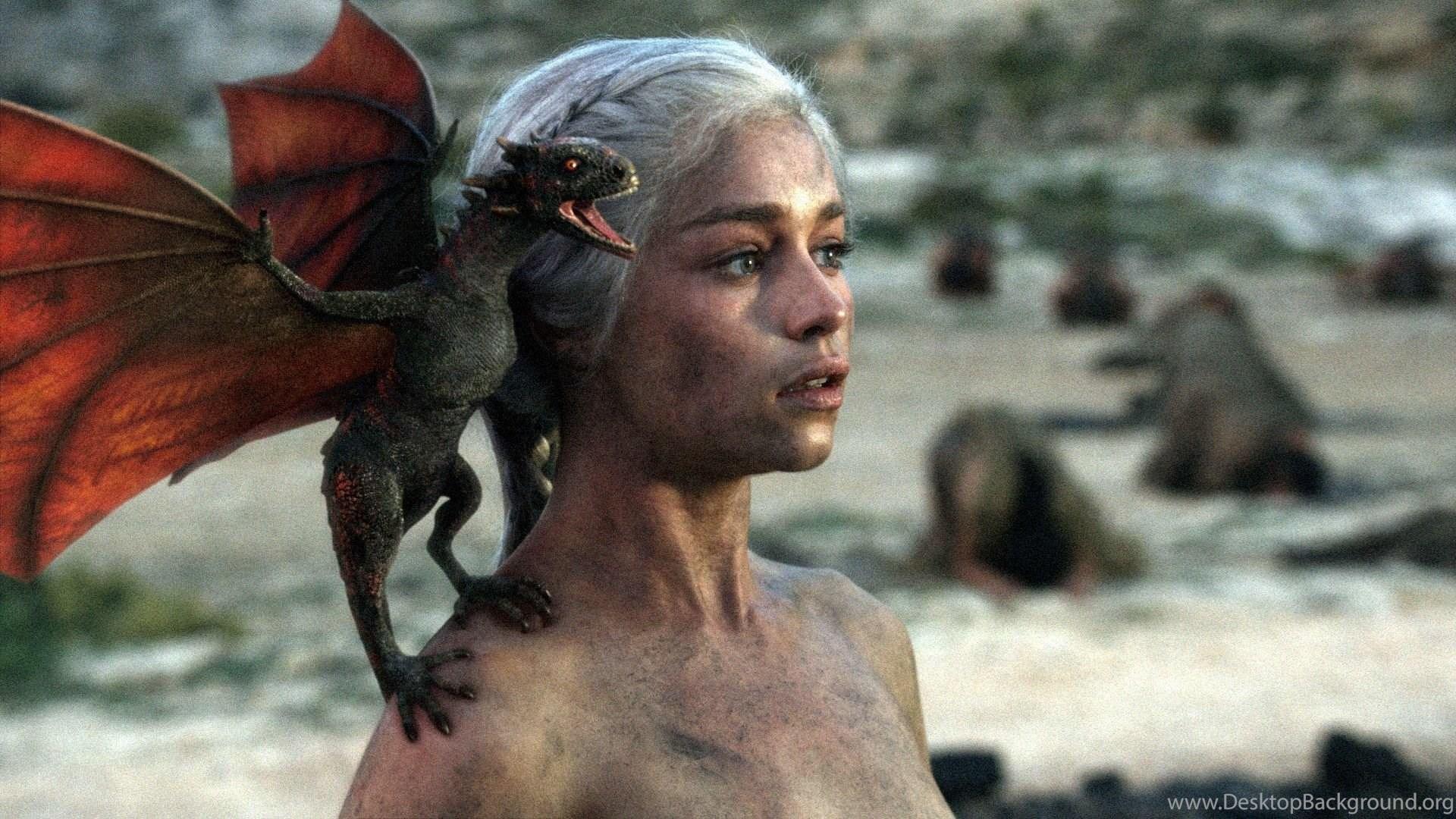Emilia Clarke Daenerys Targaryen Game Of Thrones Wallpapers
