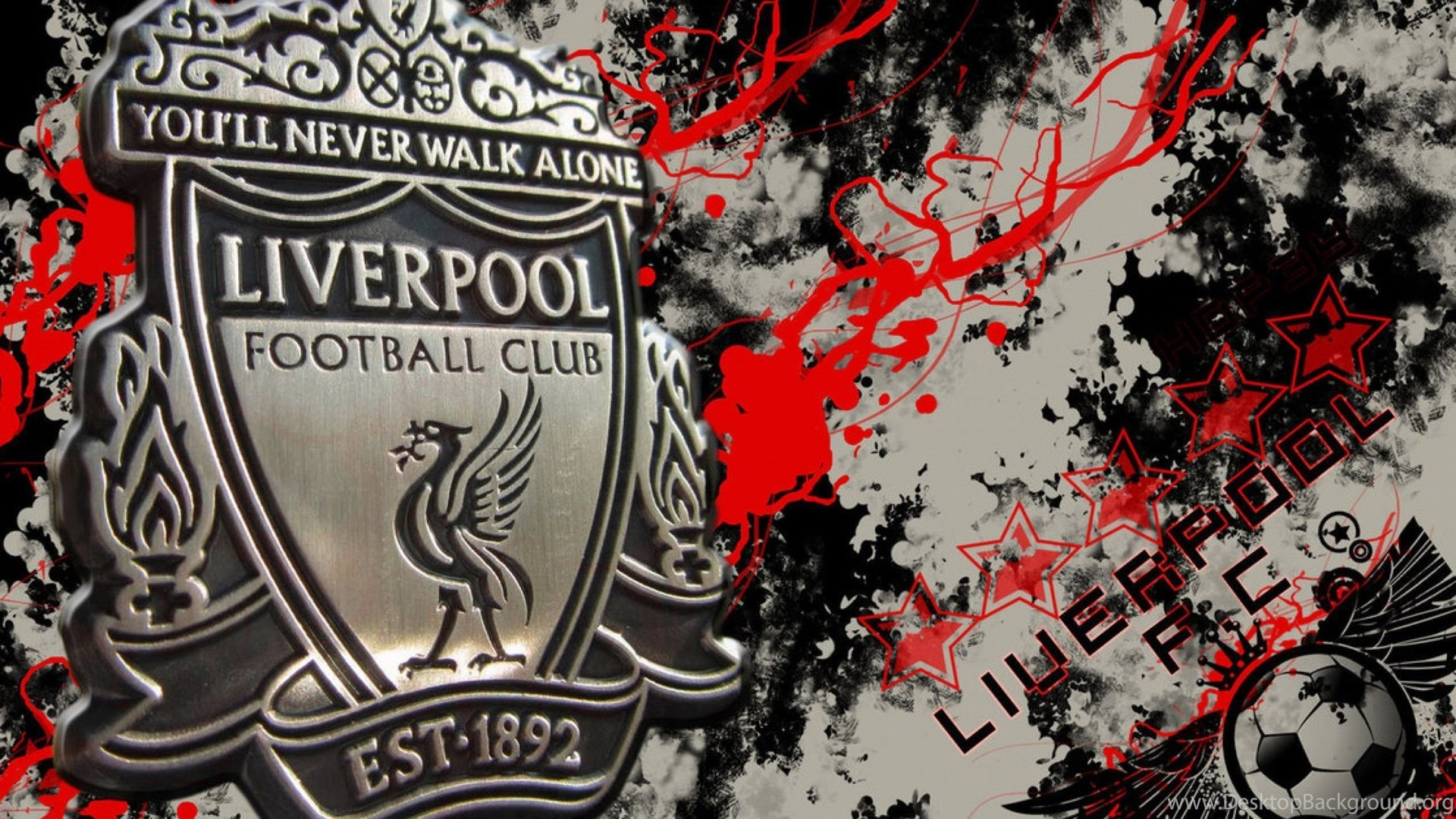 Beloved Football Club Liverpool Wallpapers And Images Wallpapers