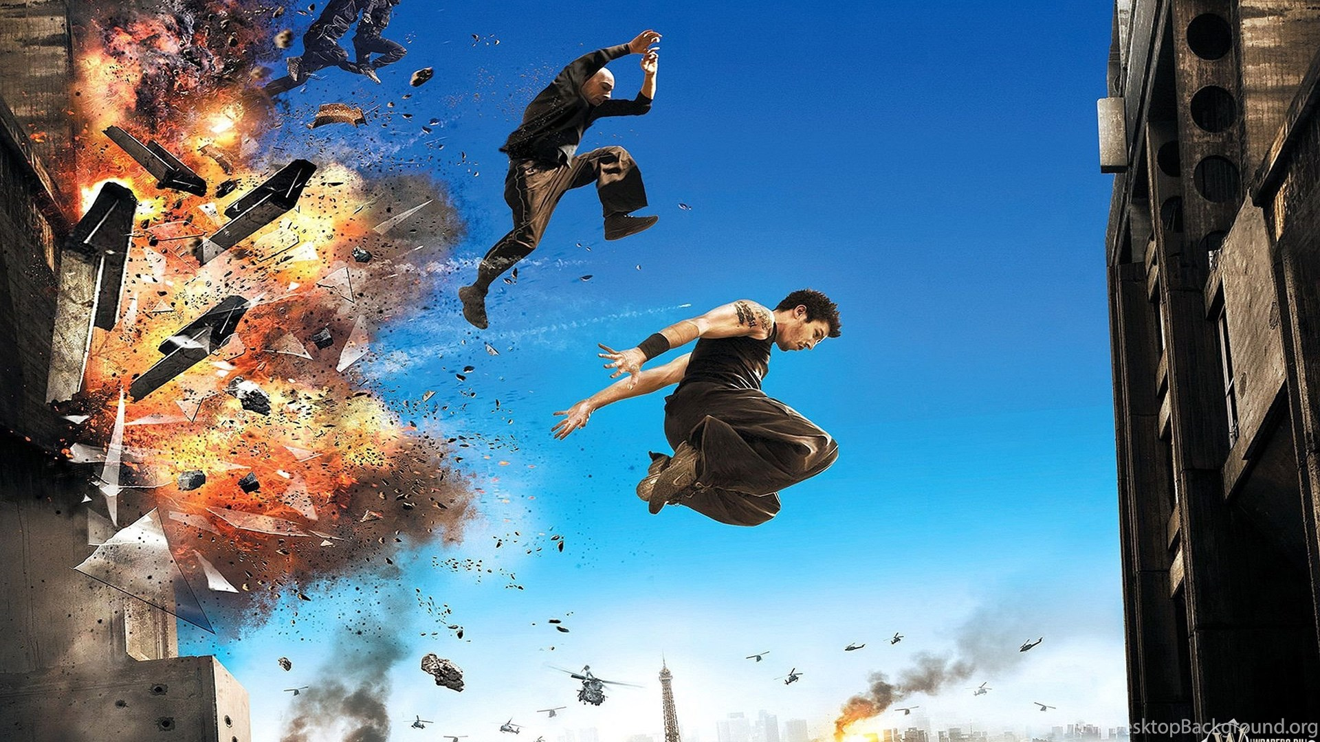 Salvation From The Explosion Parkour Wallpapers And Images