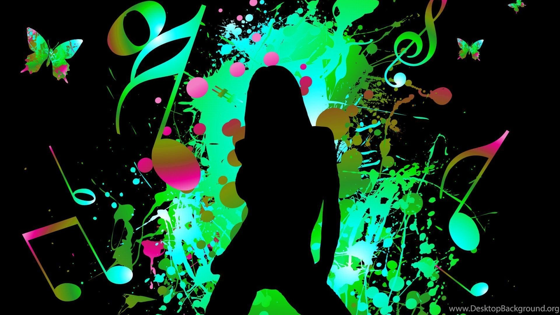 3D Wallpapers HD 3d Music 1080p For Desktop With