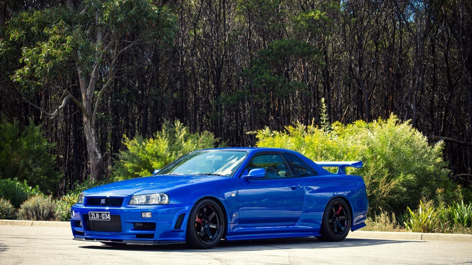 Download Wallpapers Nissan Skyline Gt R R34 Nissan