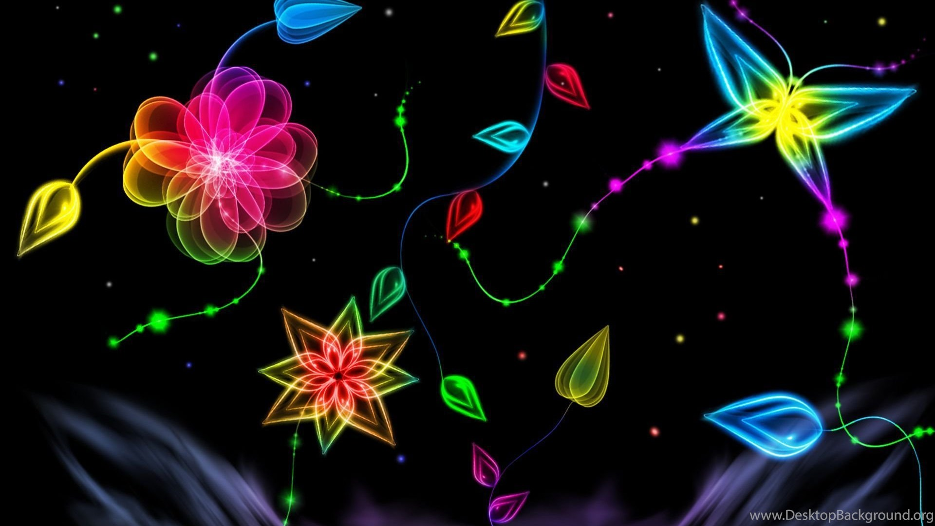 Colorful 3d Abstract Wallpapers Invitation Templates Desktop ...