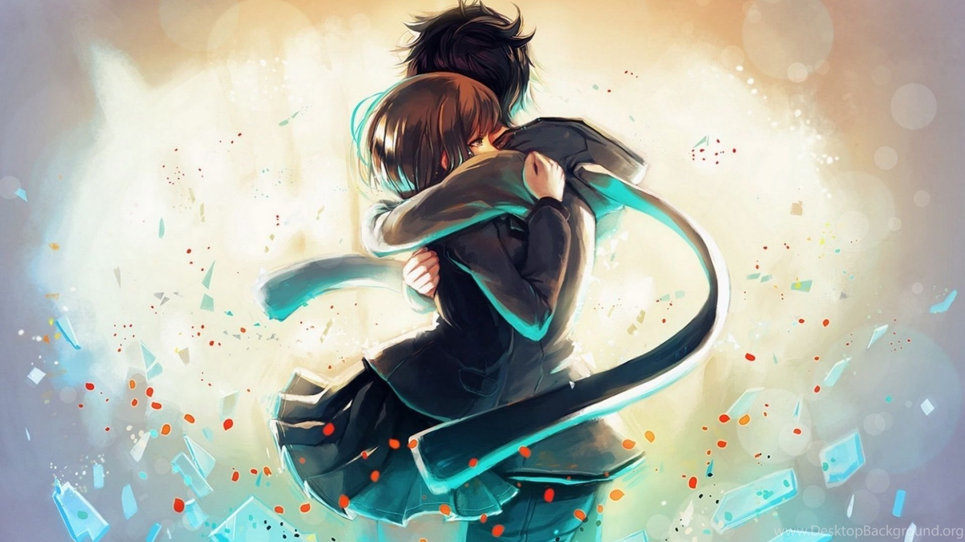 Cute Anime Wallpapers Hd Download Of Anime Couple Desktop Background