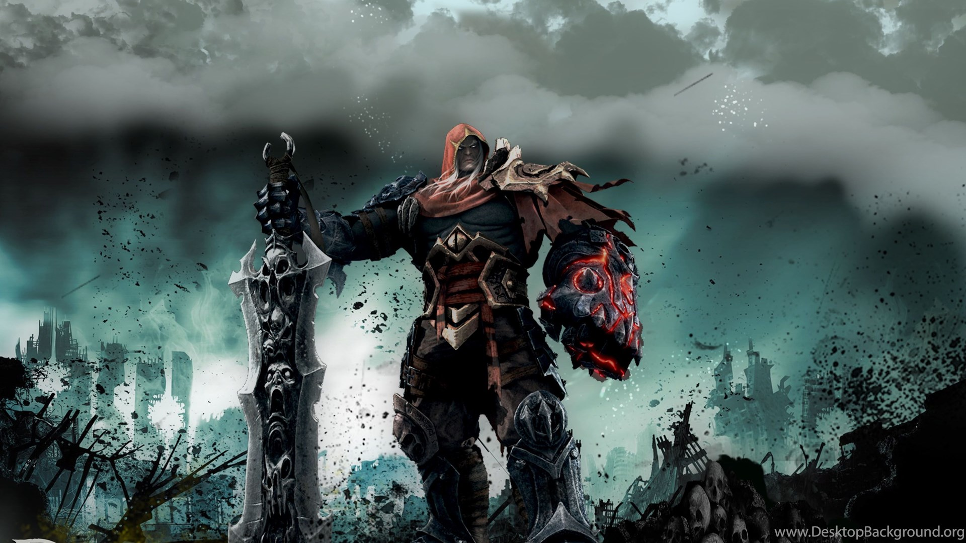 Darksiders War Wallpaper By: 99 Darksiders HD Wallpapers Desktop Background