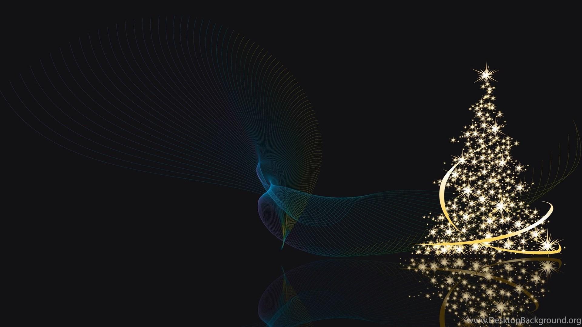 Download Wallpapers 2560x1440 Christmas Tree, Lights, Shine Mac ...