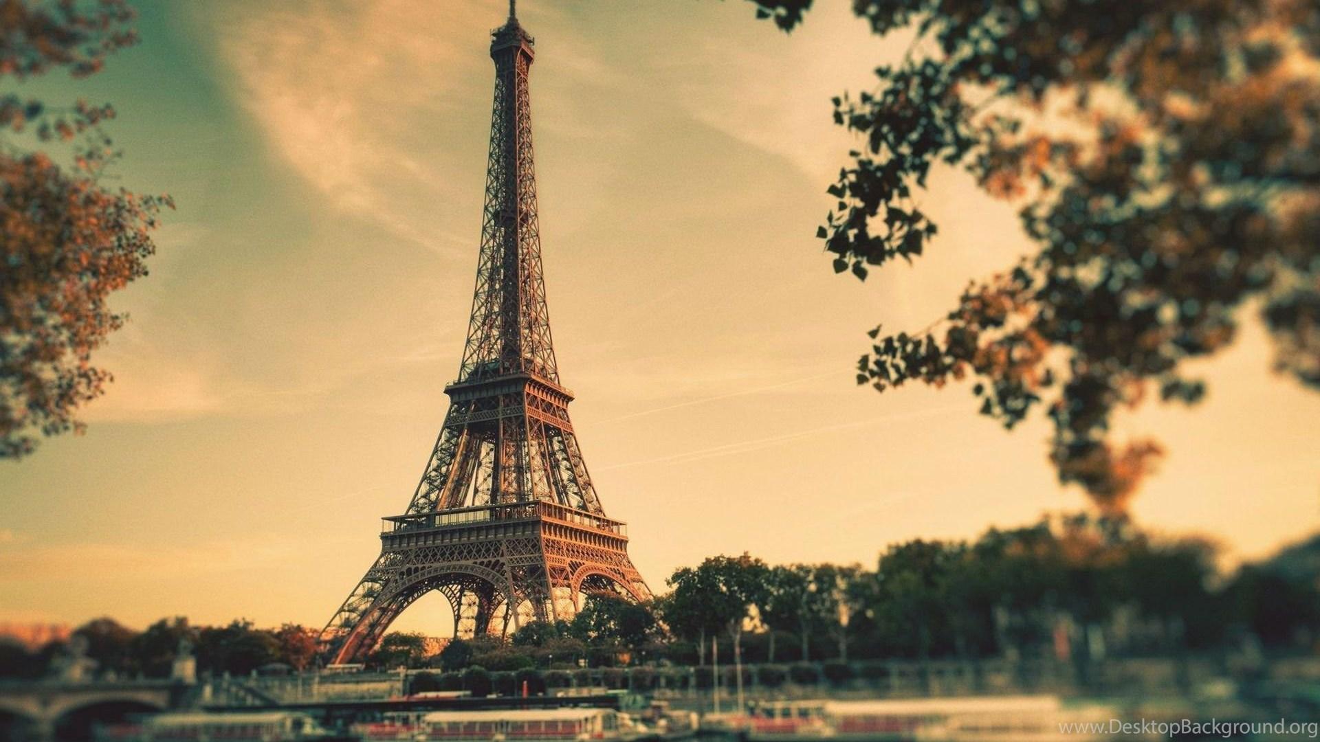 Beautiful Eiffel Tower In Paris Hd Wallpapers Desktop Background