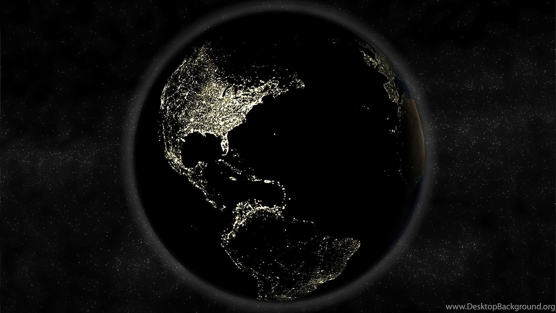 Black Earth On Space Wallpaper Download Jpg Desktop Background