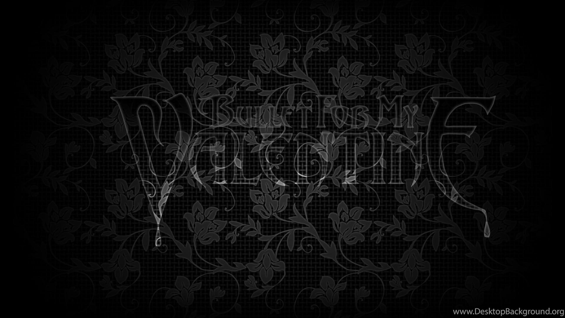 Tribal Steel Bullet For My Valentine Floral Eyefinity Wallpapers
