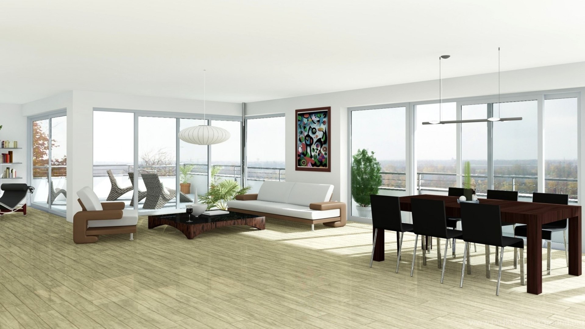 Download Wallpapers 3840x2160 Interior, Design, Style, Home, House ...