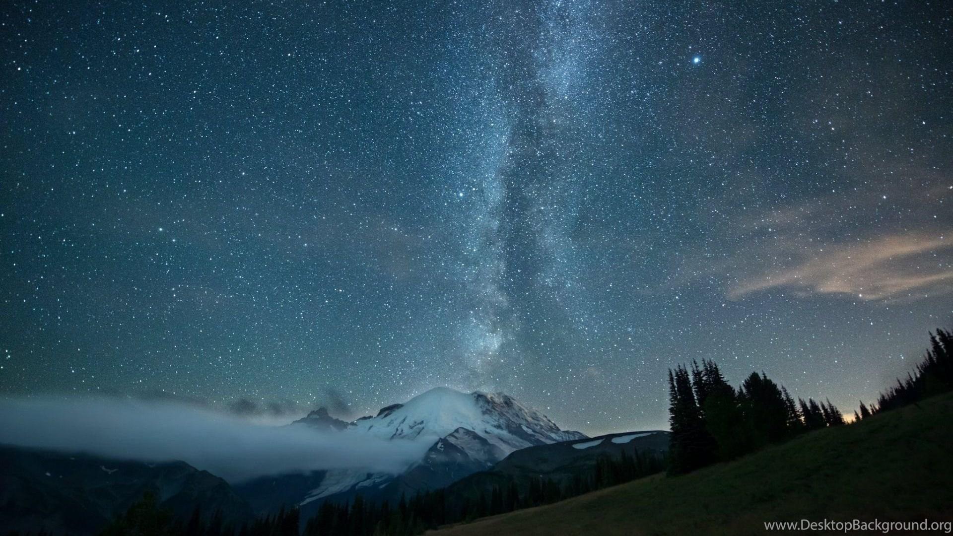 Sky Full Of Stars Night Wallpapers For Desktop Pc Mobile
