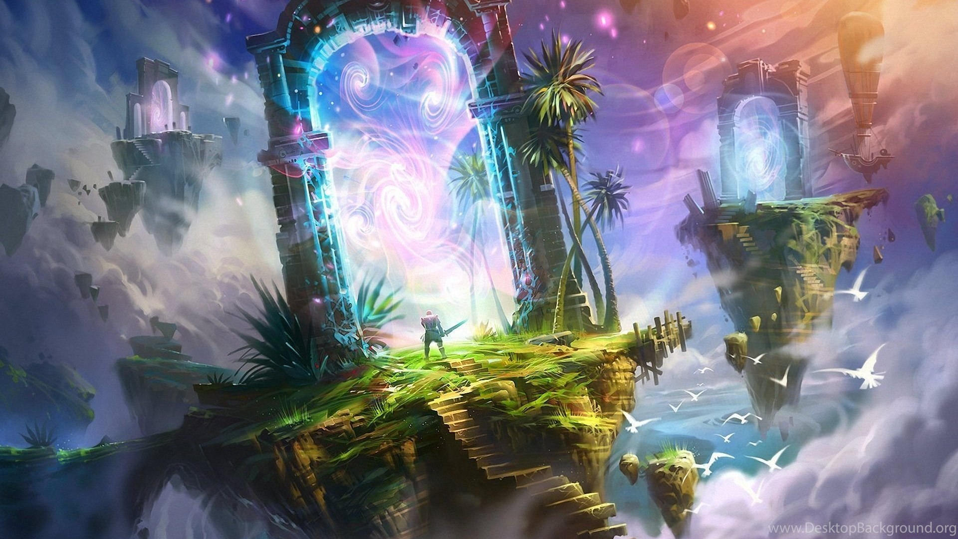 Heaven and hell fantasy wallpapers hd download desktop - Fantasy wallpaper hd ...