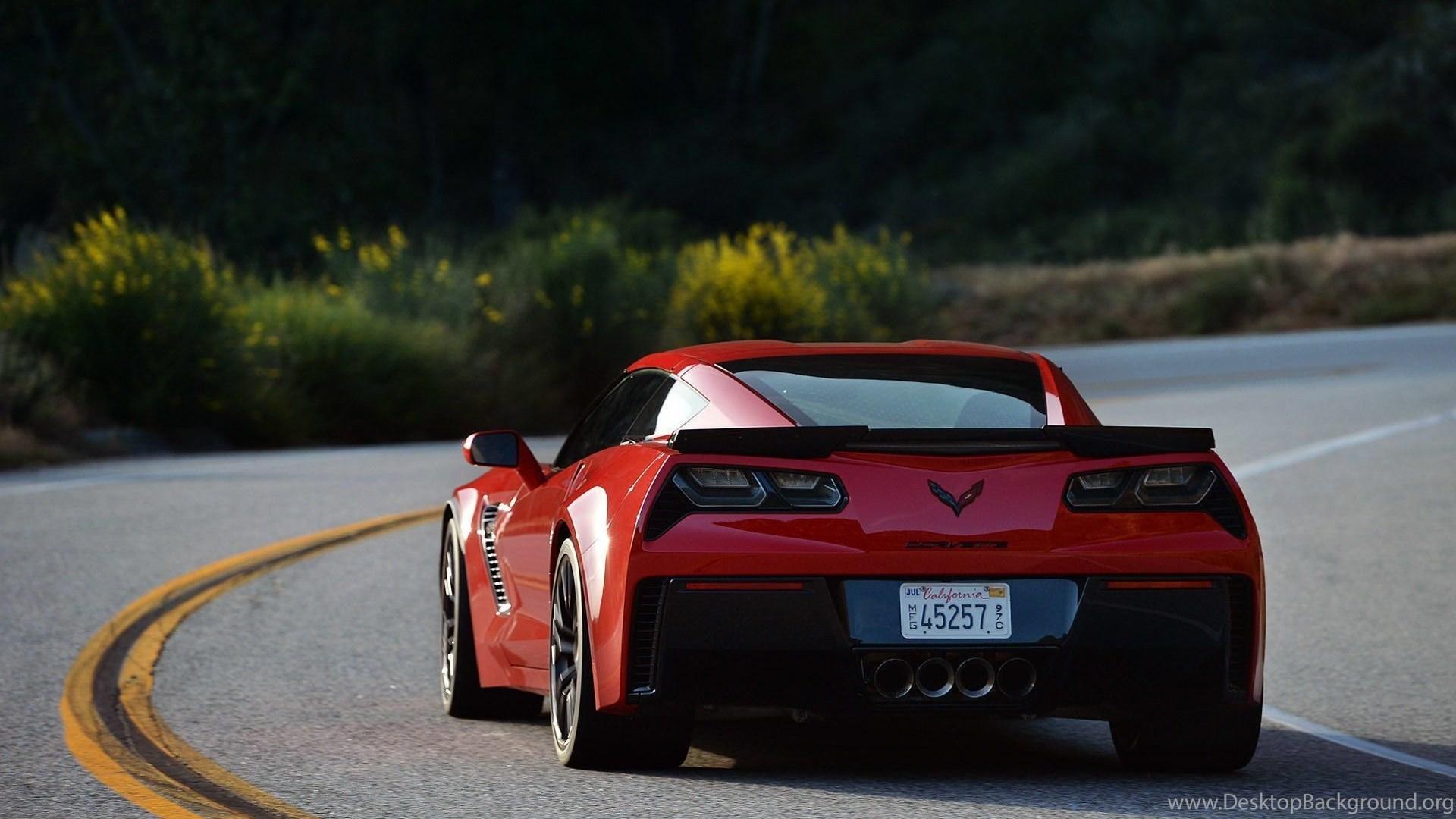 2015 Chevrolet Corvette Z06 Coupe Car C7 Wallpapers Desktop Background