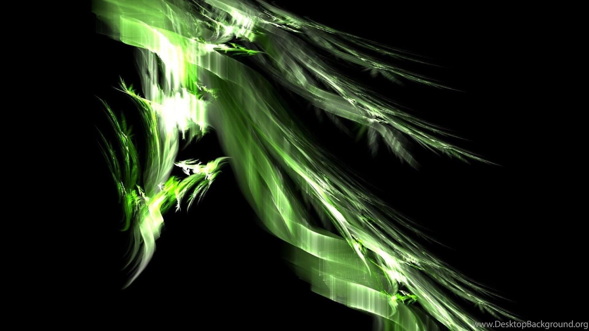3D Art Green Dragon Wallpapers Desktop Background