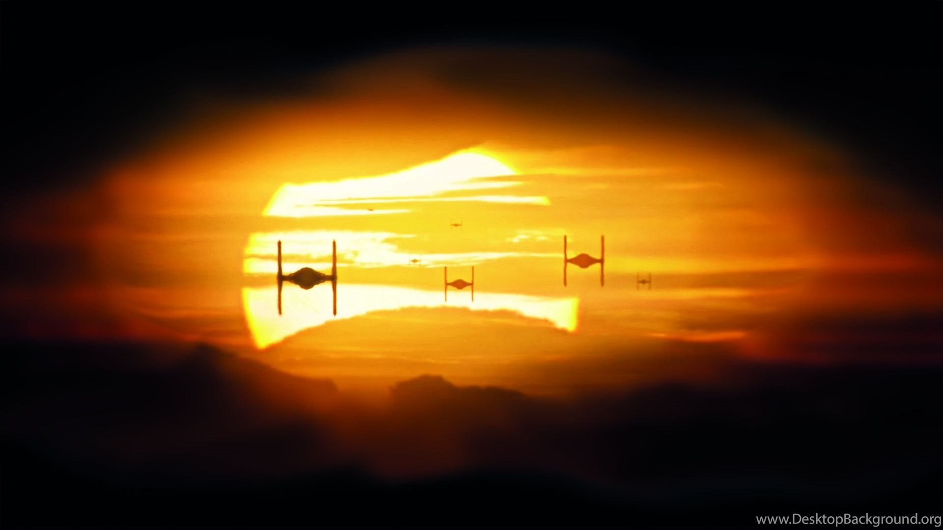 166131 star wars the force awakens tie fighters backgrounds album on