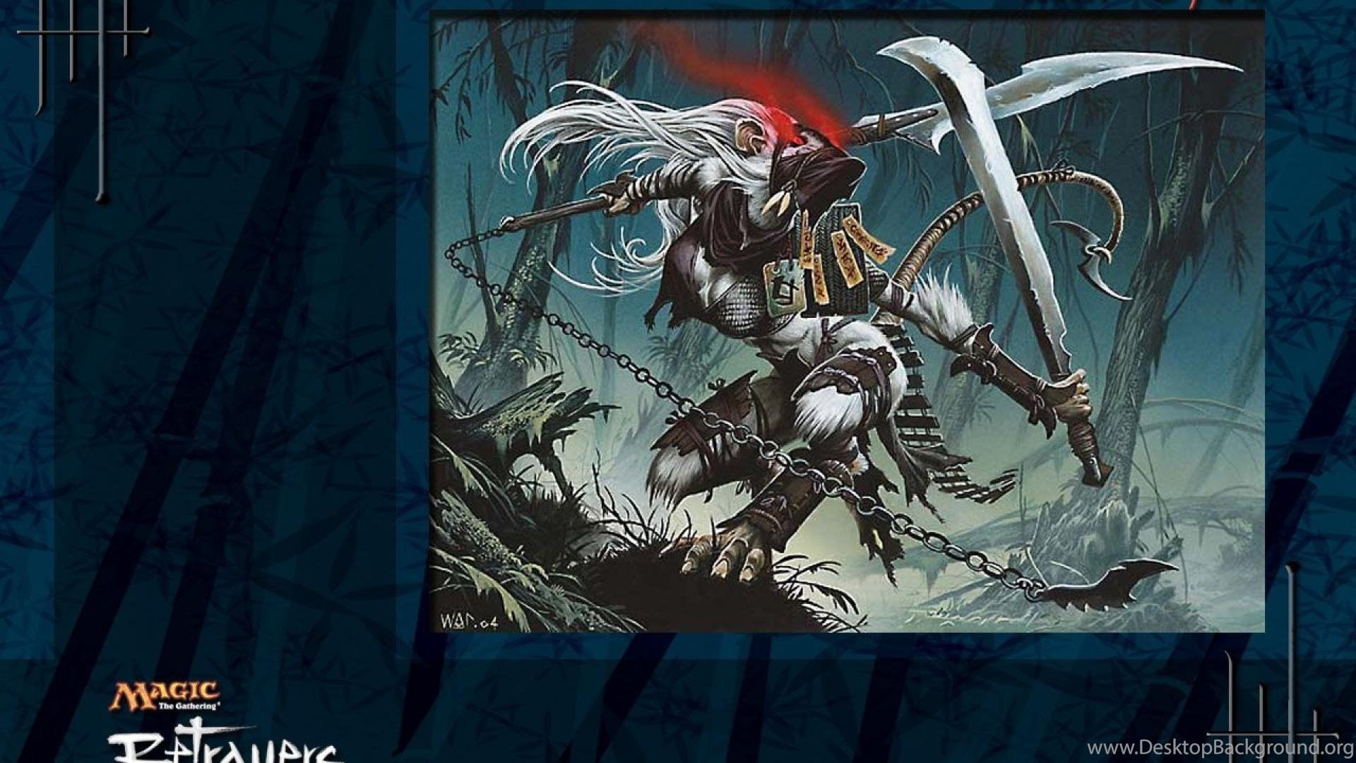 Magic The Gathering Mtg Betrayers Hd Wallpapers Desktop Background