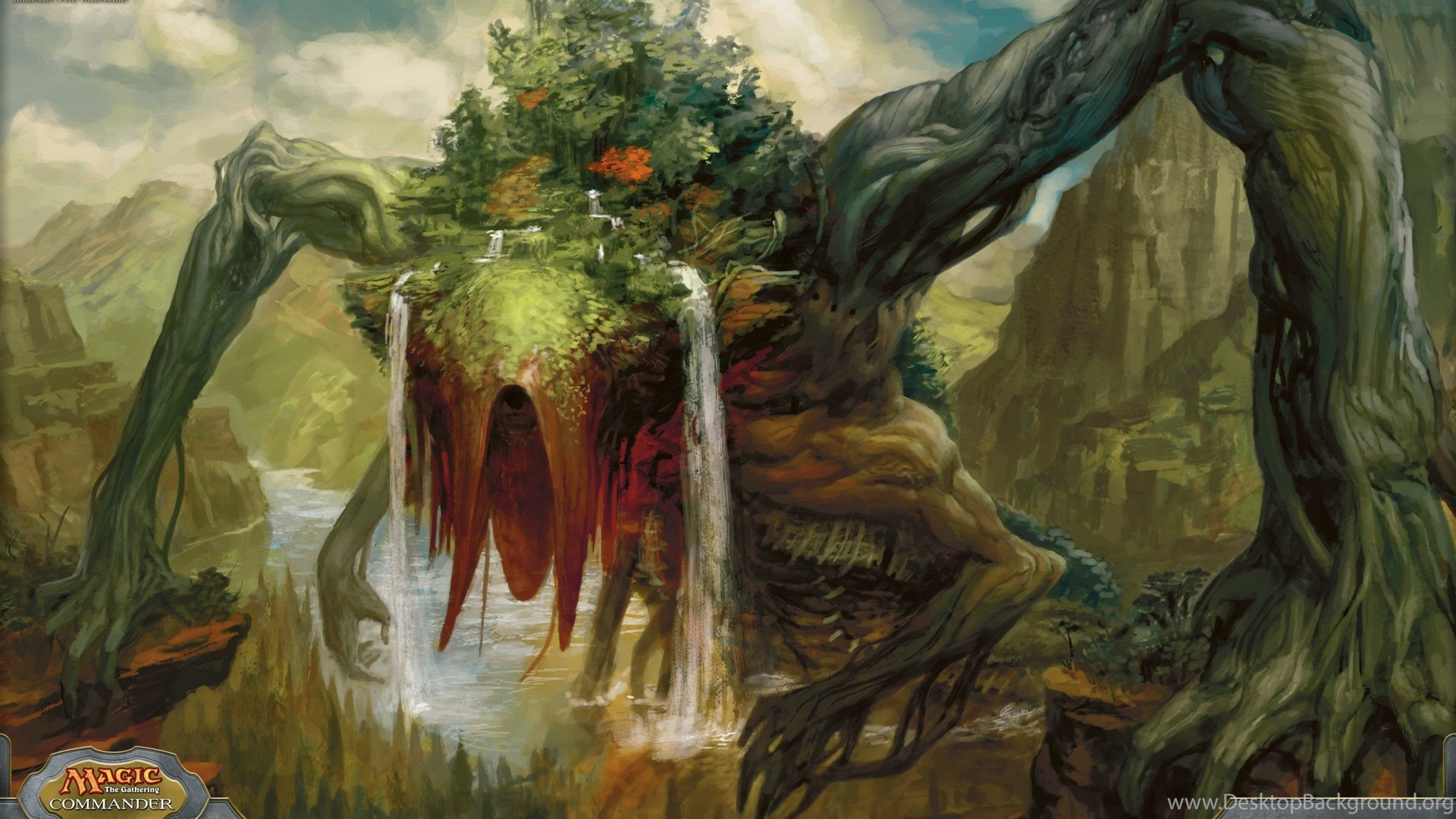 Magic The Gathering Fantasy Art Wallpapers Desktop Background