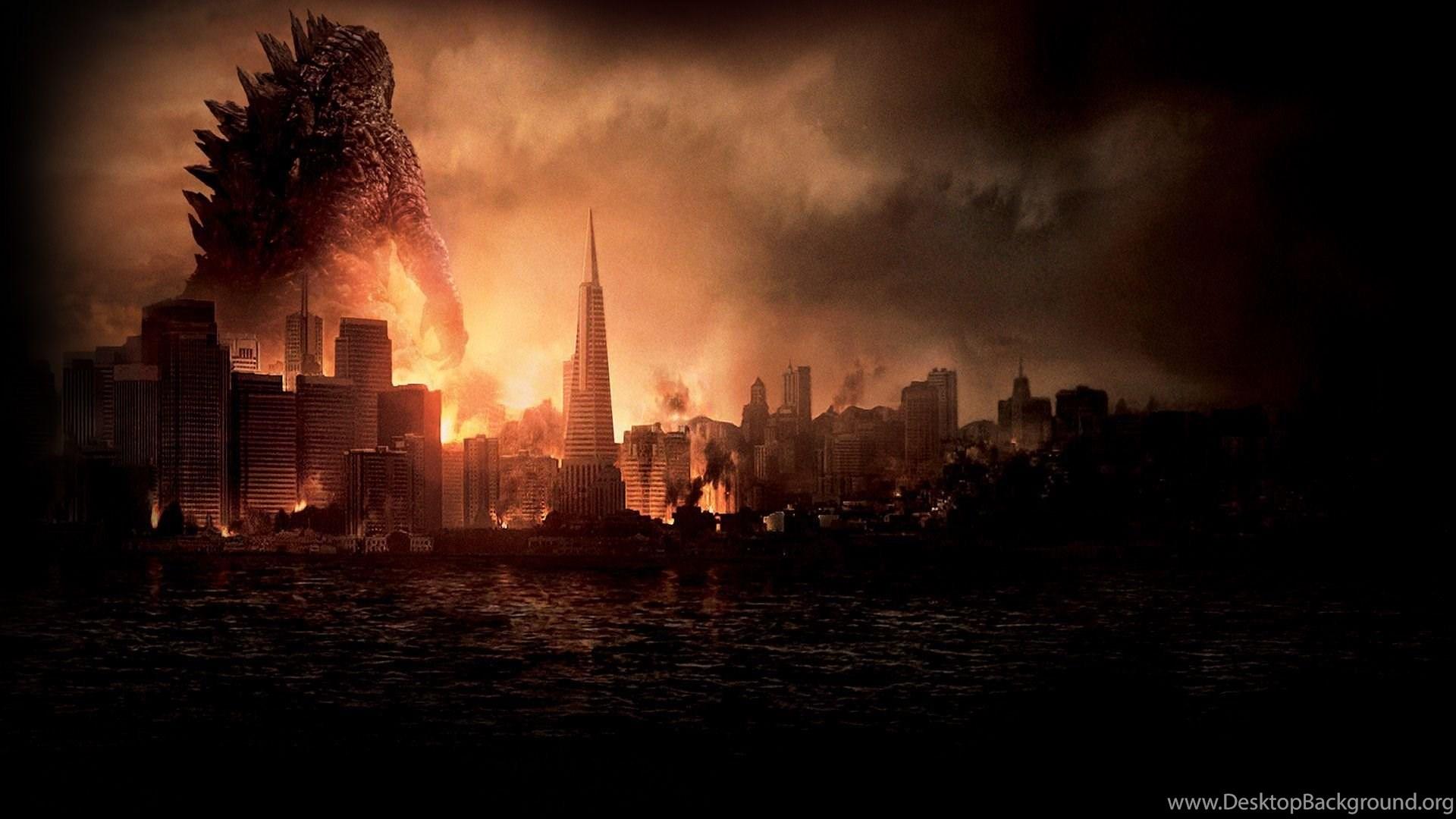 Godzilla movie poster creator desktop background - Movie poster wallpaper ...