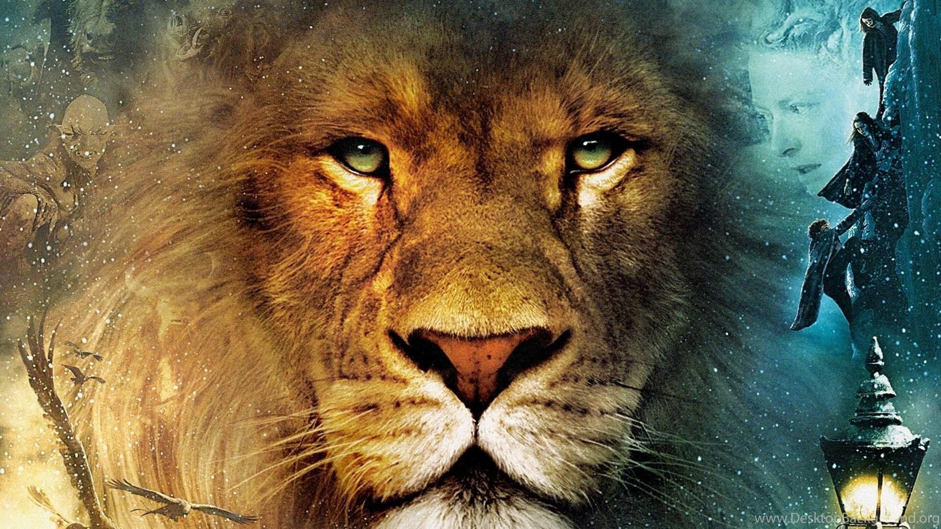 Background Screensavers Screensaver Lion Narnia Wallpapers