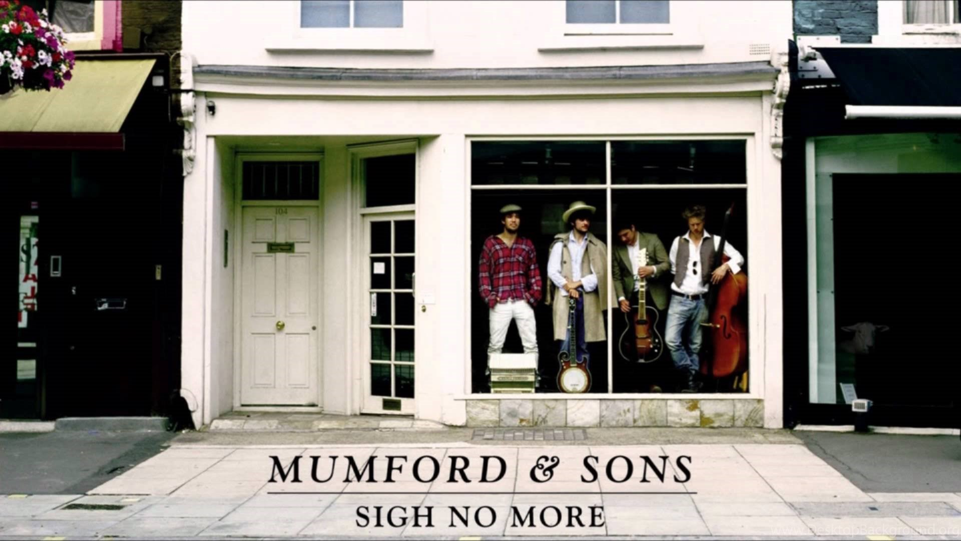 Mumford And Sons Logo Wallpaper Desktop Background