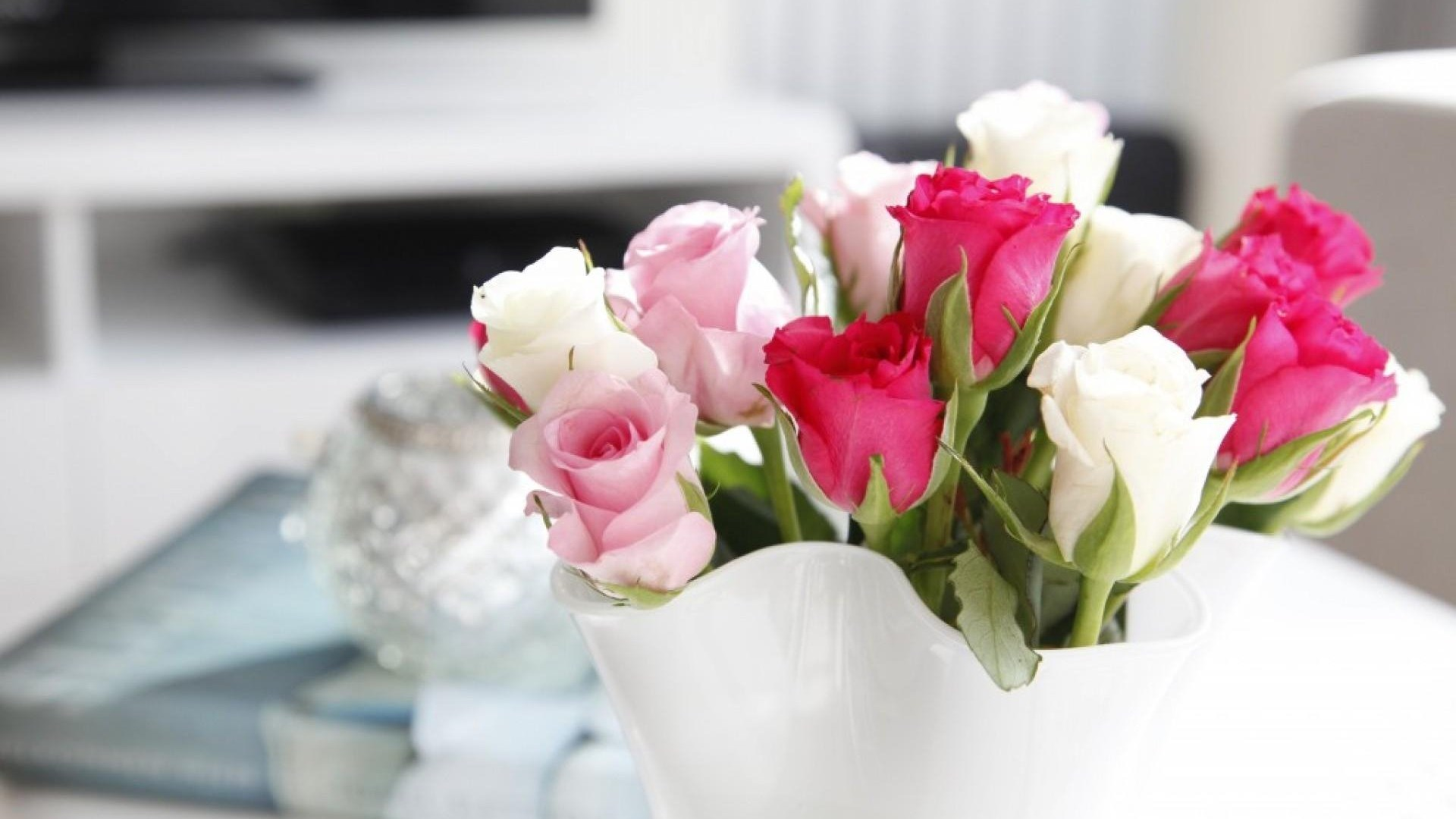 Gallery For Pink And White Roses Wallpapers Desktop Background