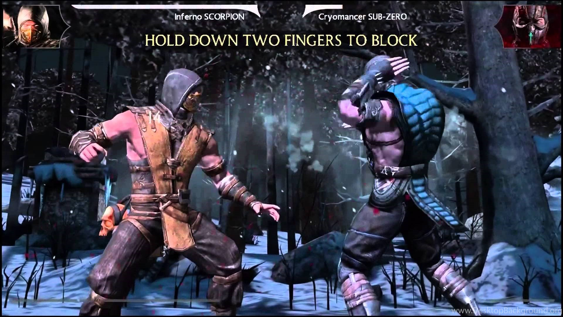 Mortal Kombat X Scorpion Vs Sub Zero Gameplay With Fatality