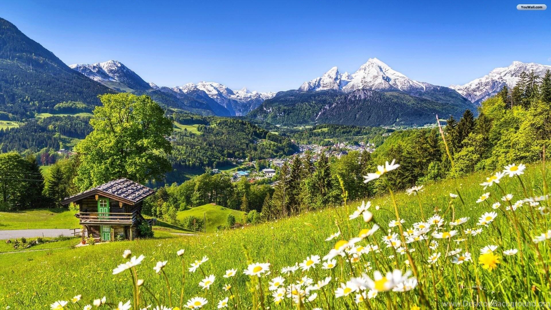 YouWall Switzerland Landscape Wallpapers Wallpaper ...