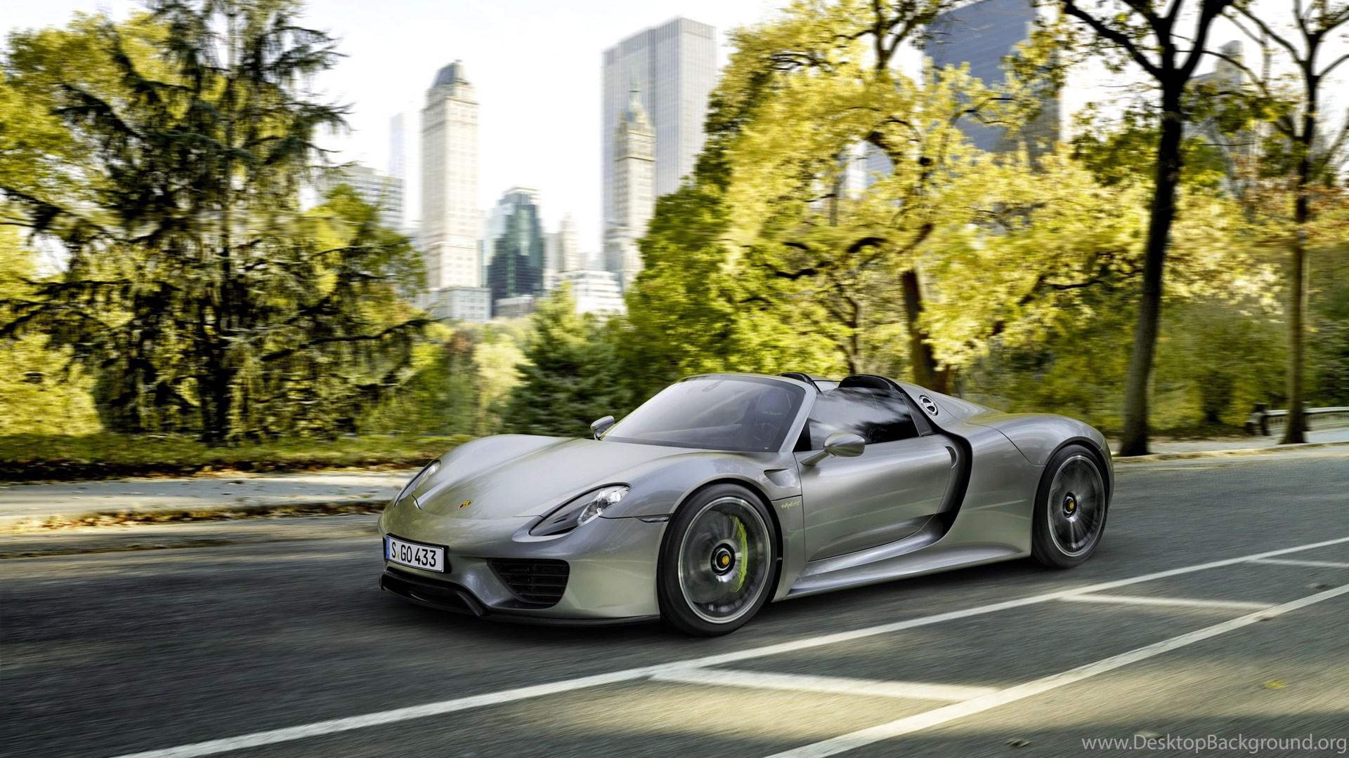 Porsche 918 Spyder High Resolution Wallpapers Image Gallery