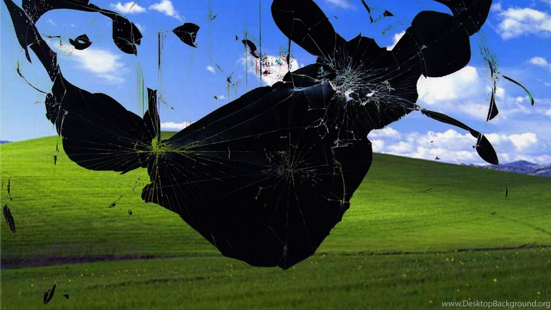 10312 Windows 7 Broken Screen Best Wallpapers Attachment Walops