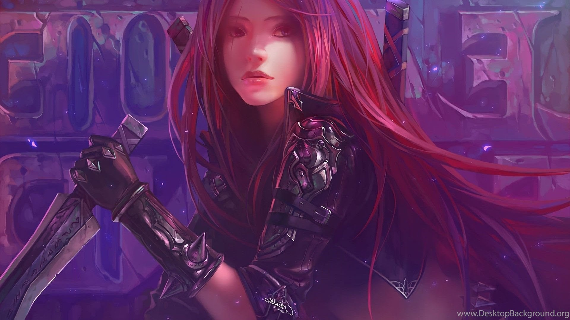 Katarina League Of Legends Wallpapers Desktop Background