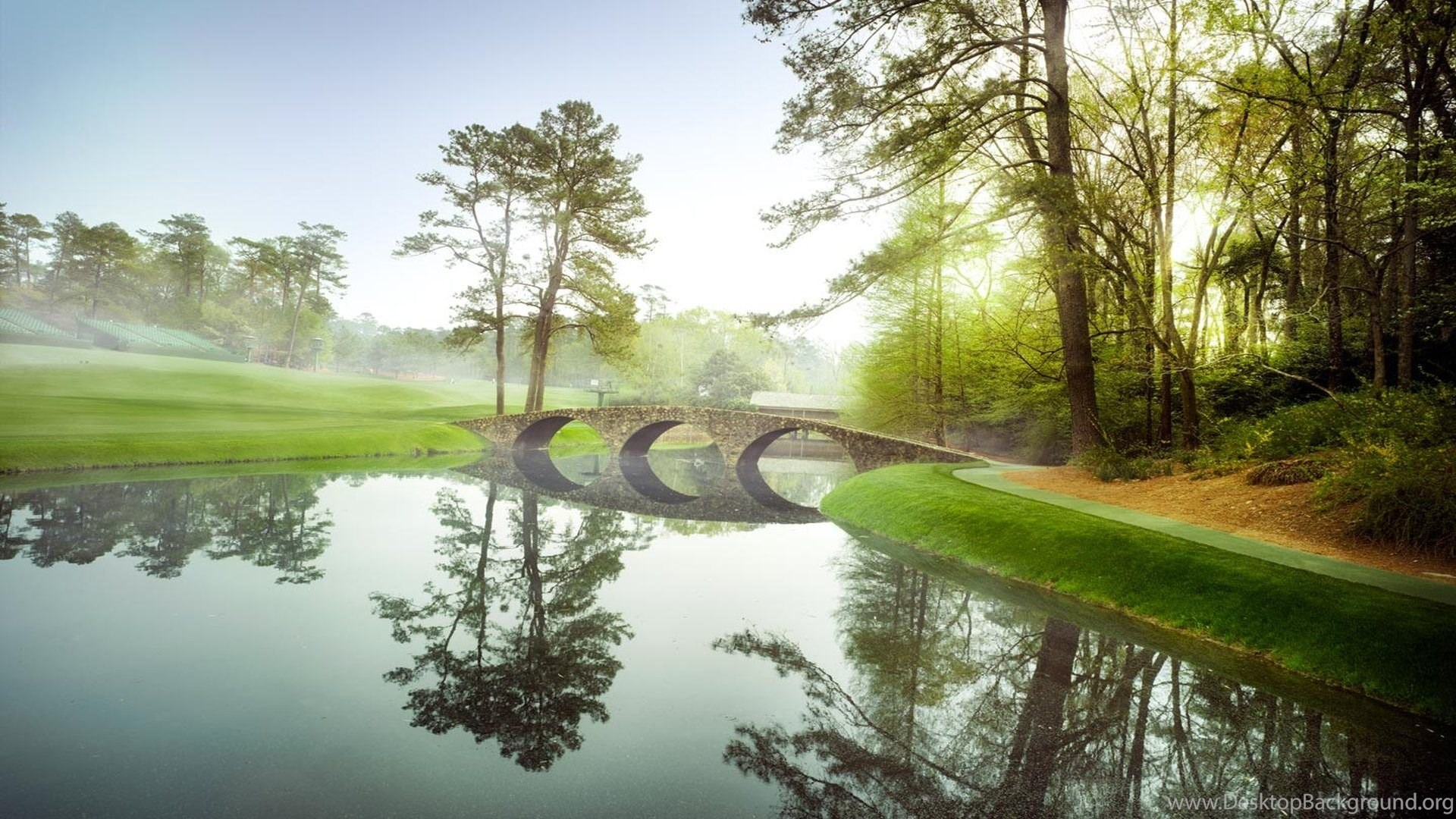 Photo The Augusta National Golf Course Wallpapers Hd Masters