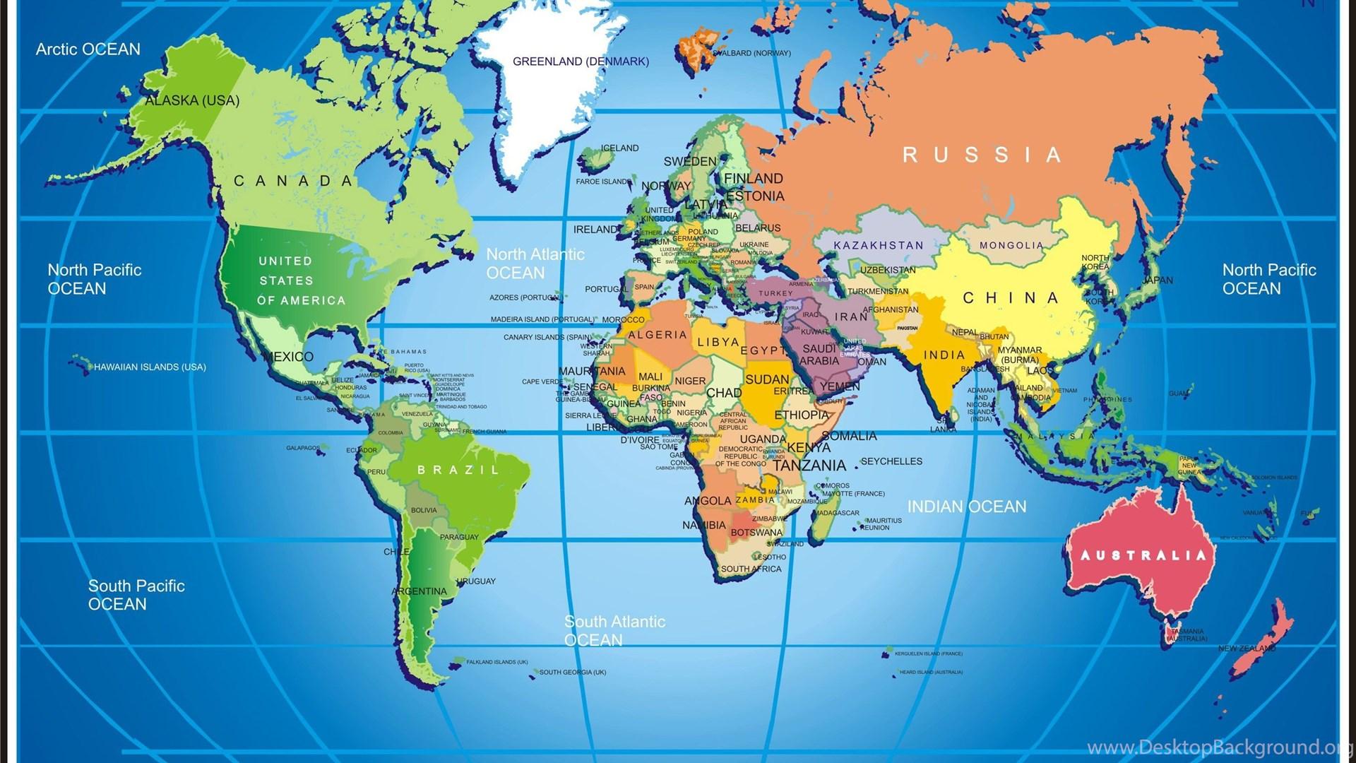 World Map Desktop Wallpaper 1920x1080.Widescreen World Map Hd Wallpaper Download World Map Free Jpg