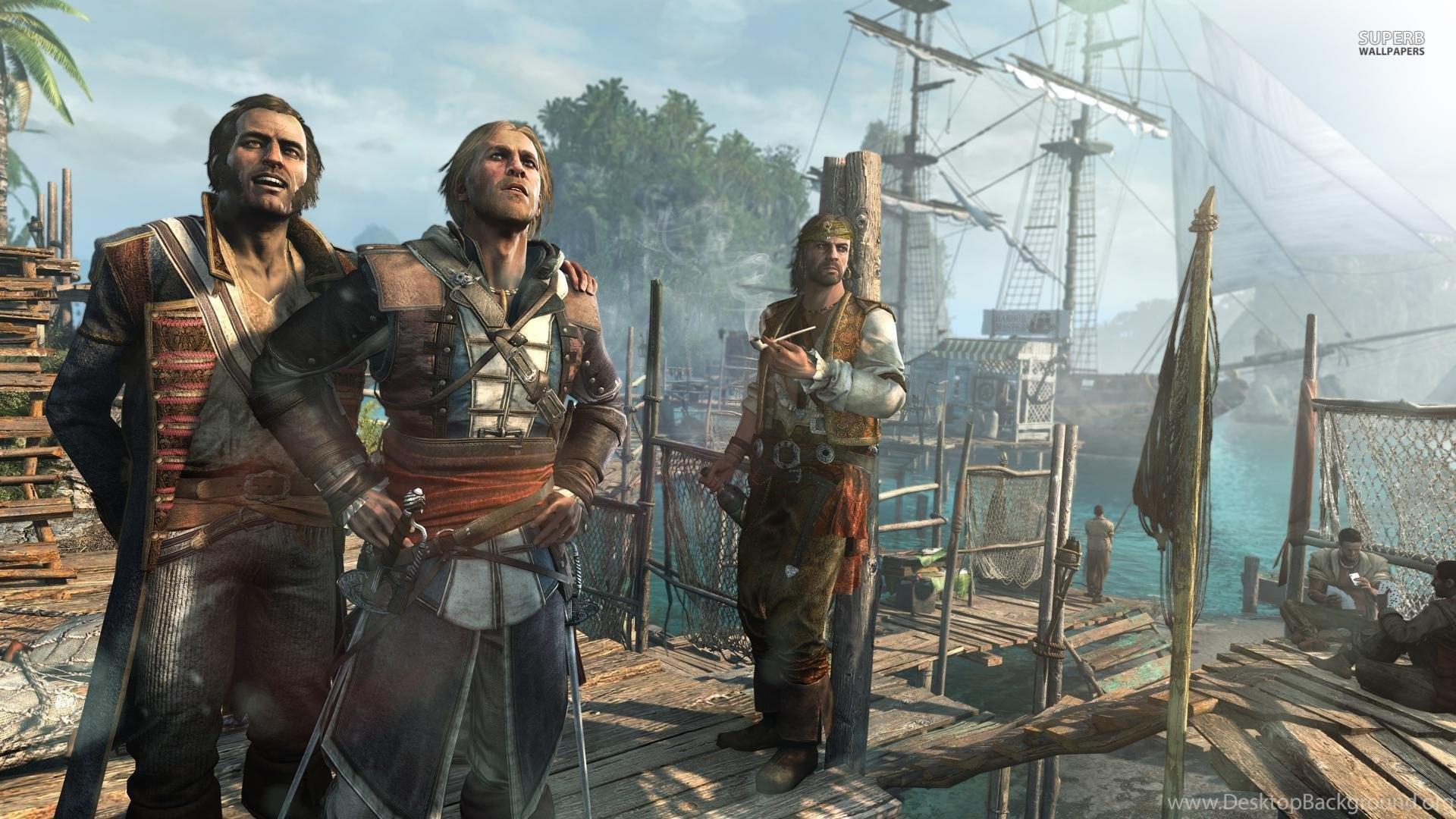 Assassin S Creed Iv Black Flag Wallpapers Game Wallpapers Desktop