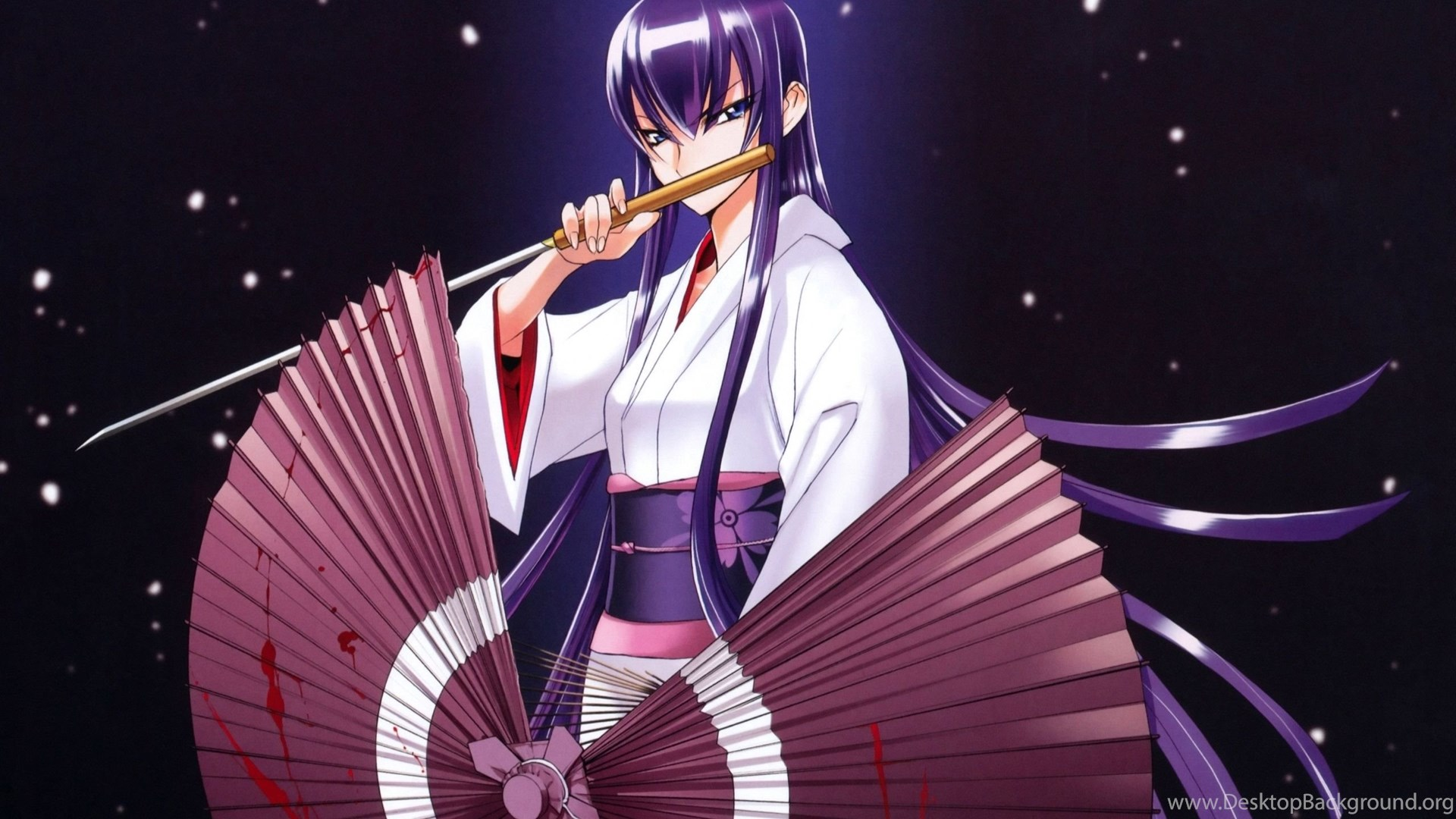 Wallpapers Of Saeko Busujima From High School Of The Dead Imgur
