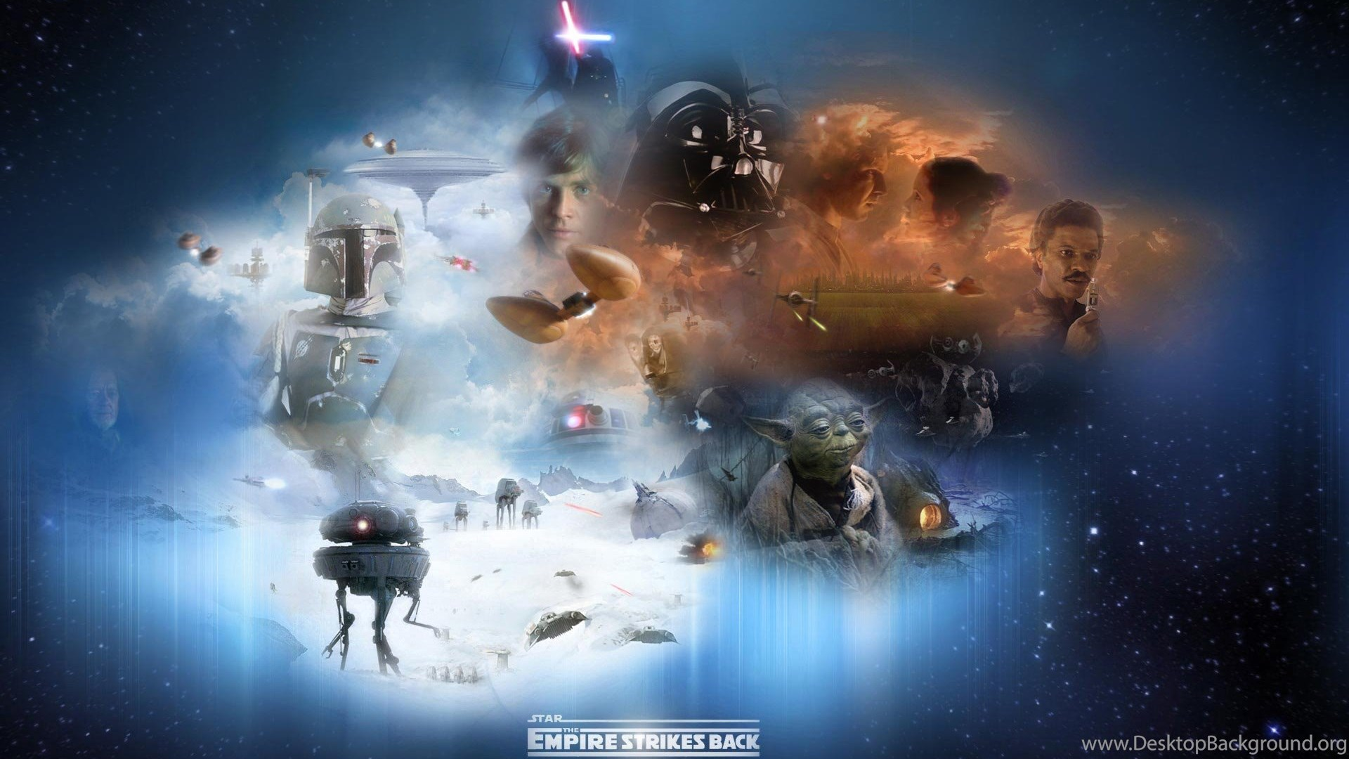 Star Wars Episode V The Empire Strikes Collage 1920x1200 Hd