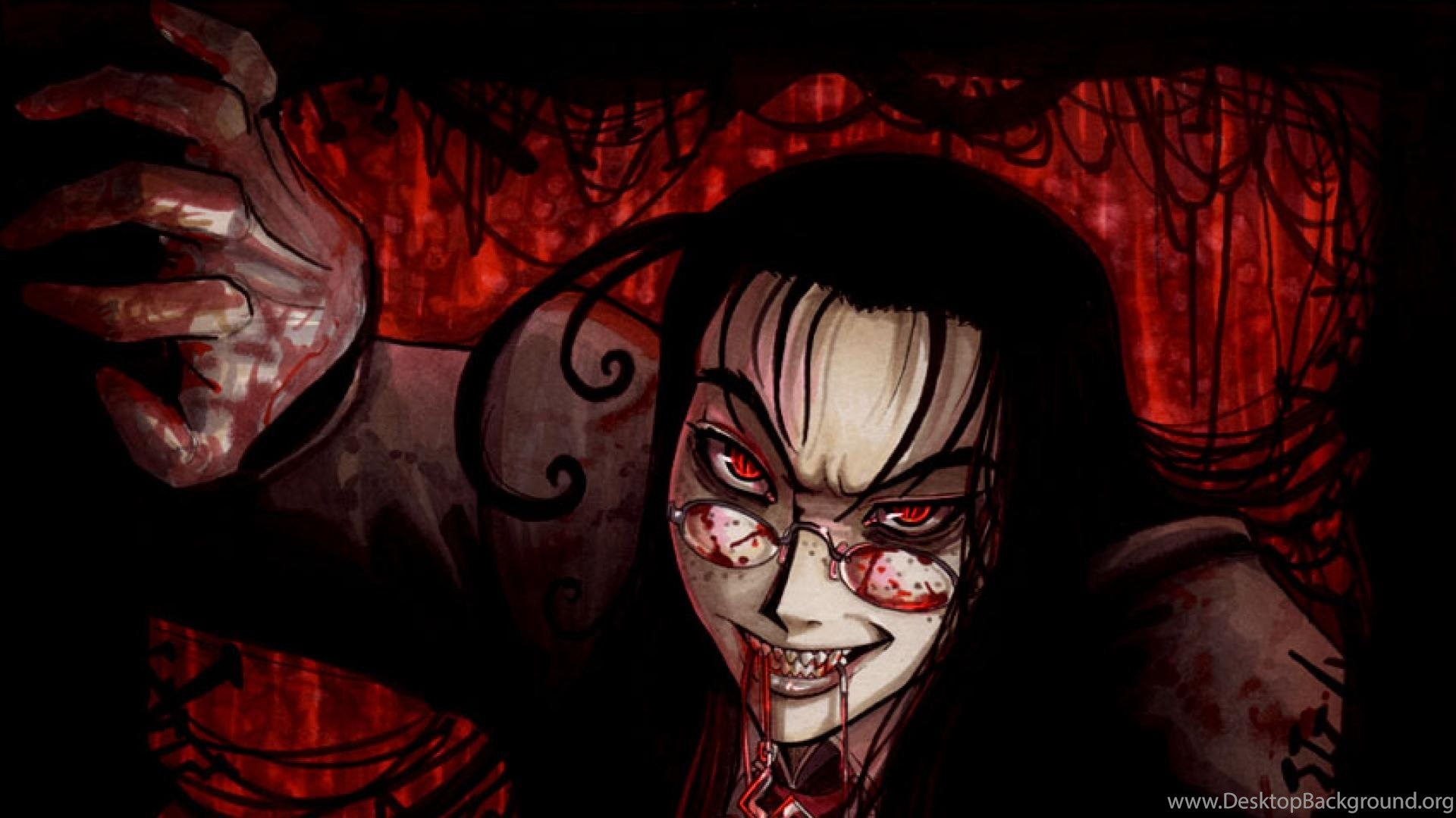 Hellsing Hellsing Ultimate Rip Van Winkle Wallpapers Desktop Background