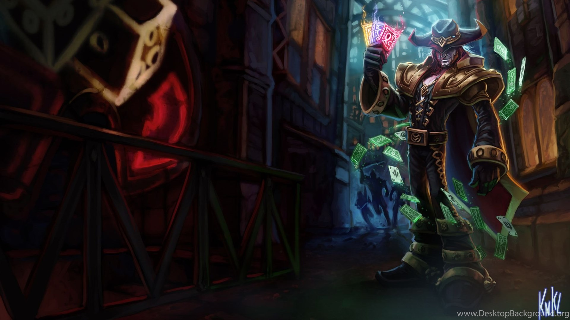 35 Twisted Fate League Of Legends Hd Wallpapers Desktop Background