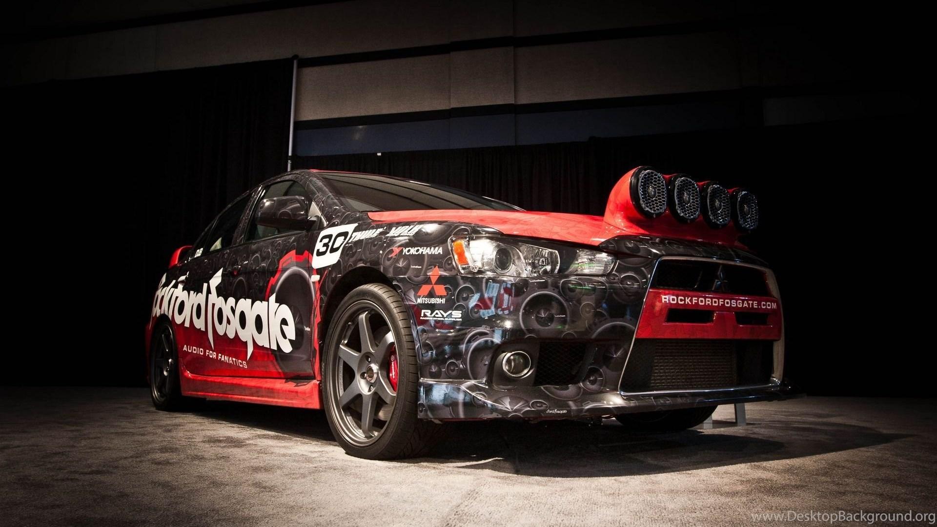 Mitsubishi Evo Rockford Fosgate Rally Edition At 2012 Los Angeles Hd Popular