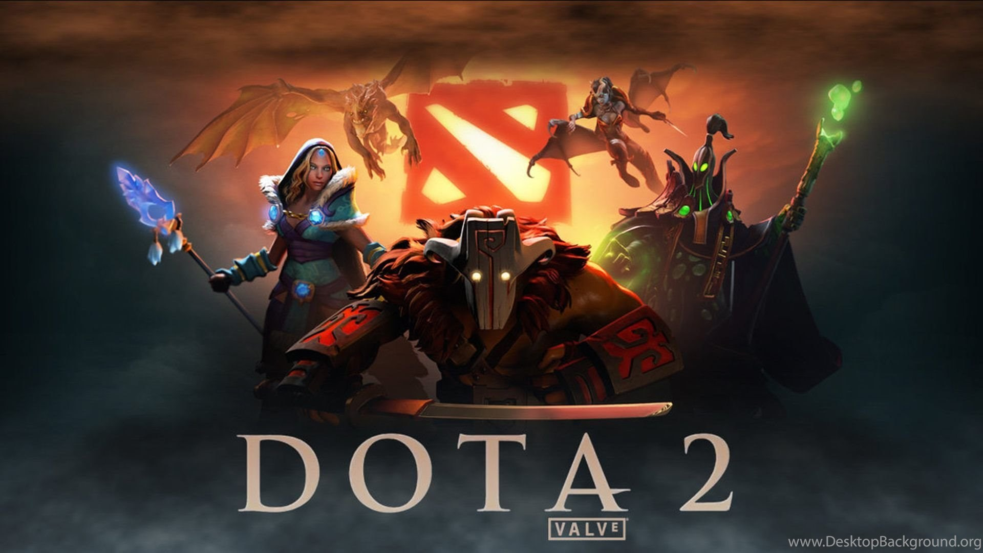 dota 2 wallpapers hd free download for desktop and mobile desktop