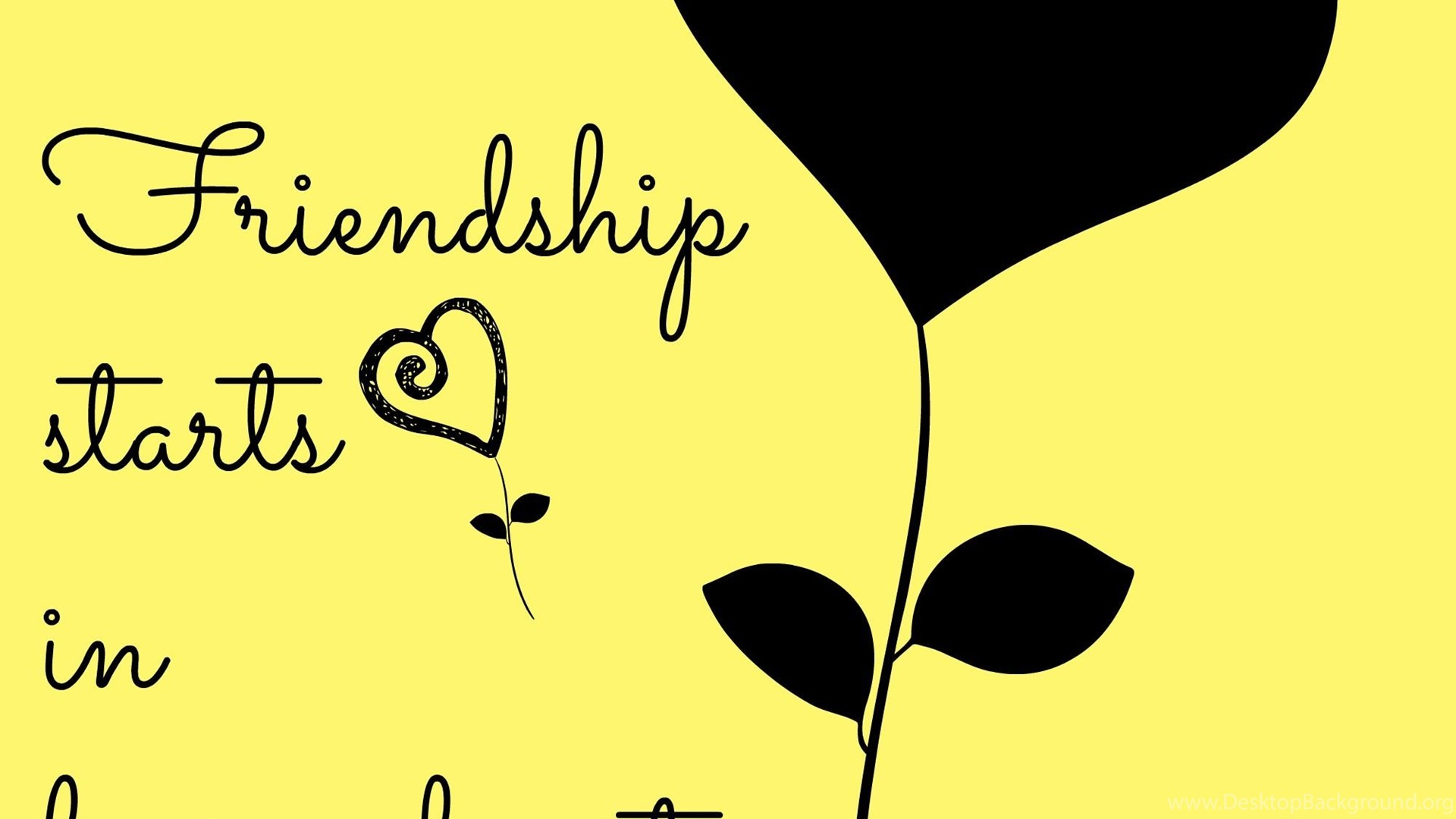 40 Cute Friendship Quotes With Images Desktop Background