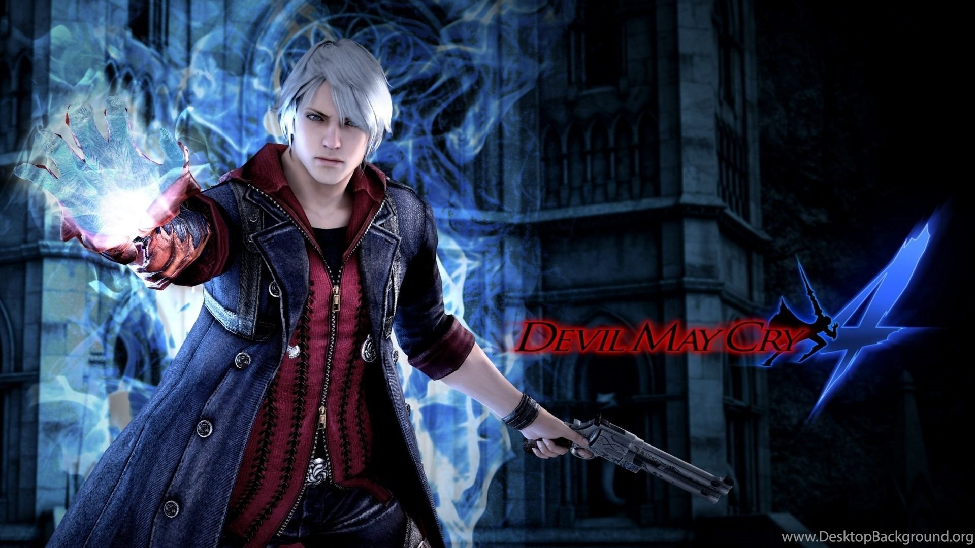 Wallpapers Hd Devil May Cry 4 Poster Hd Wallpapers Expert Desktop