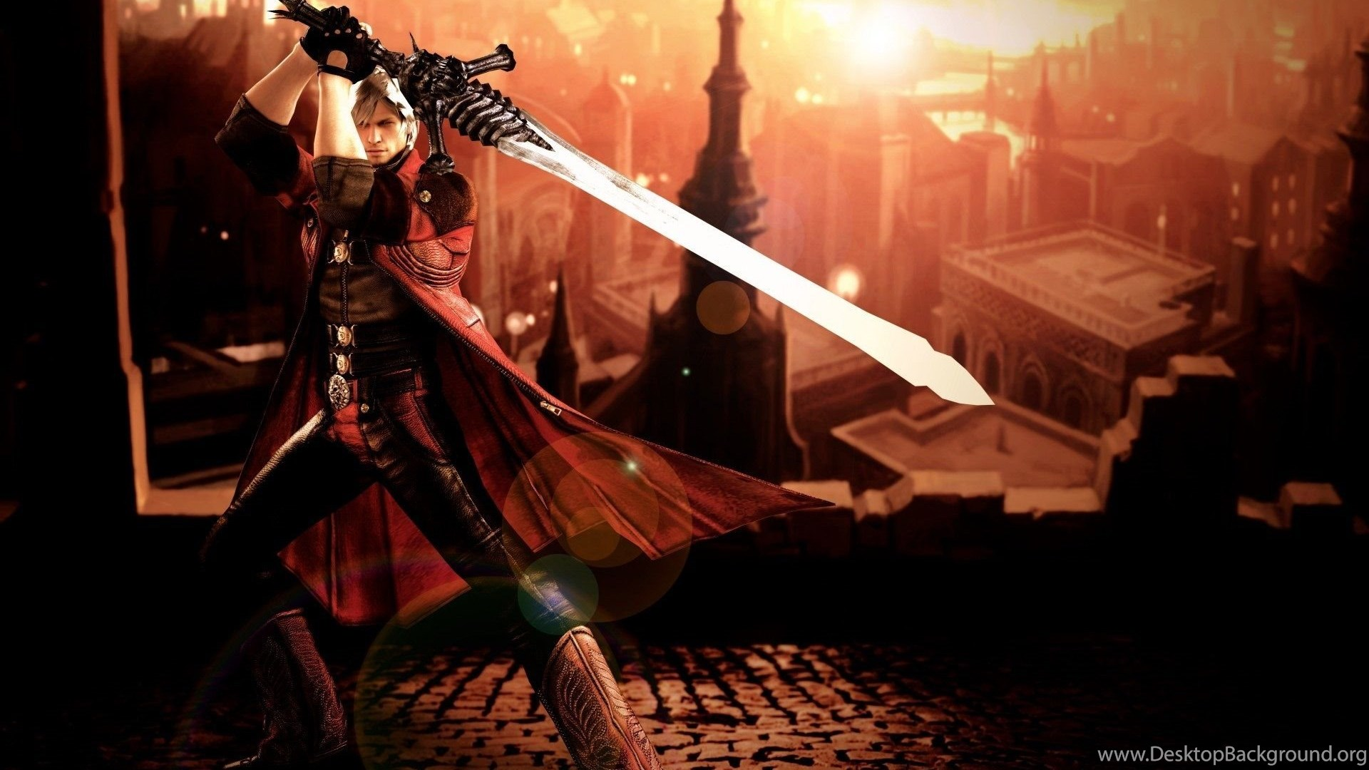 Devil May Cry 4 Dante Wallpapers Desktop Background