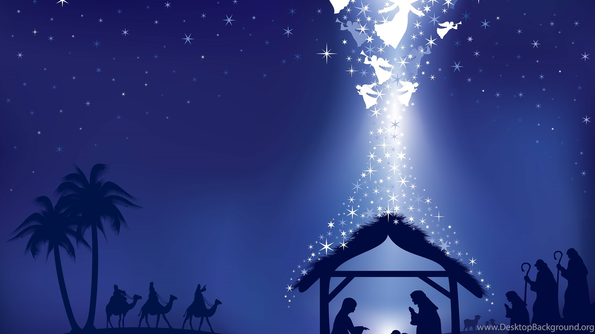 Christmas Nativity Wallpapers Wallpapers Cave Desktop Background