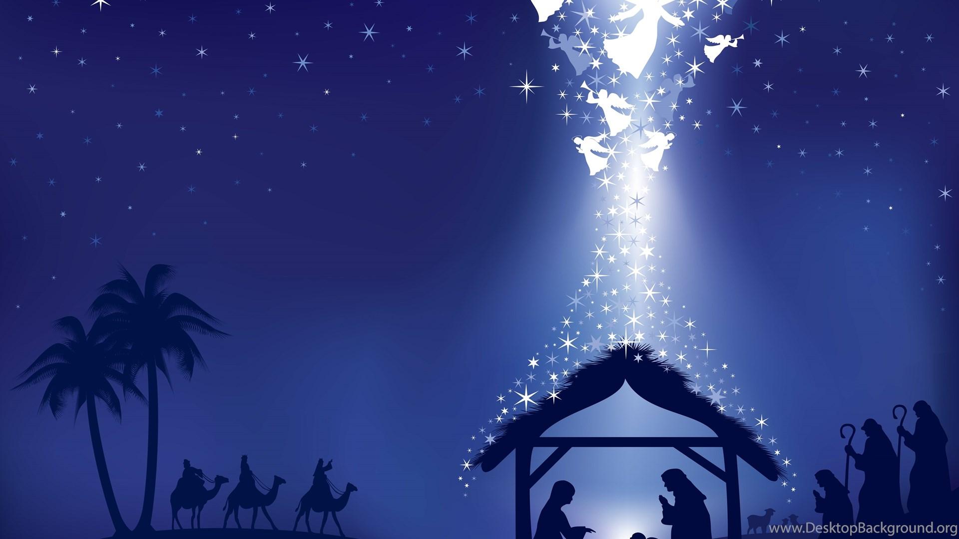 christmas nativity wallpapers wallpapers cave desktop