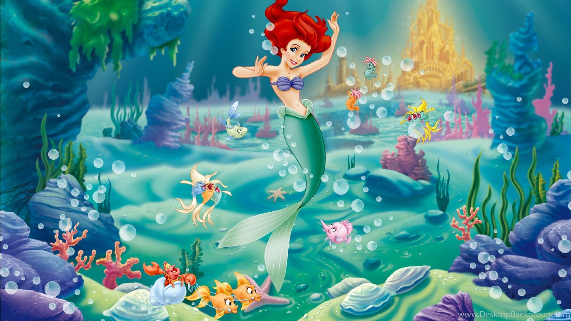 The Little Mermaid Wallpapers Pictures 39 Hd Wallpaper Backgrounds Desktop Background