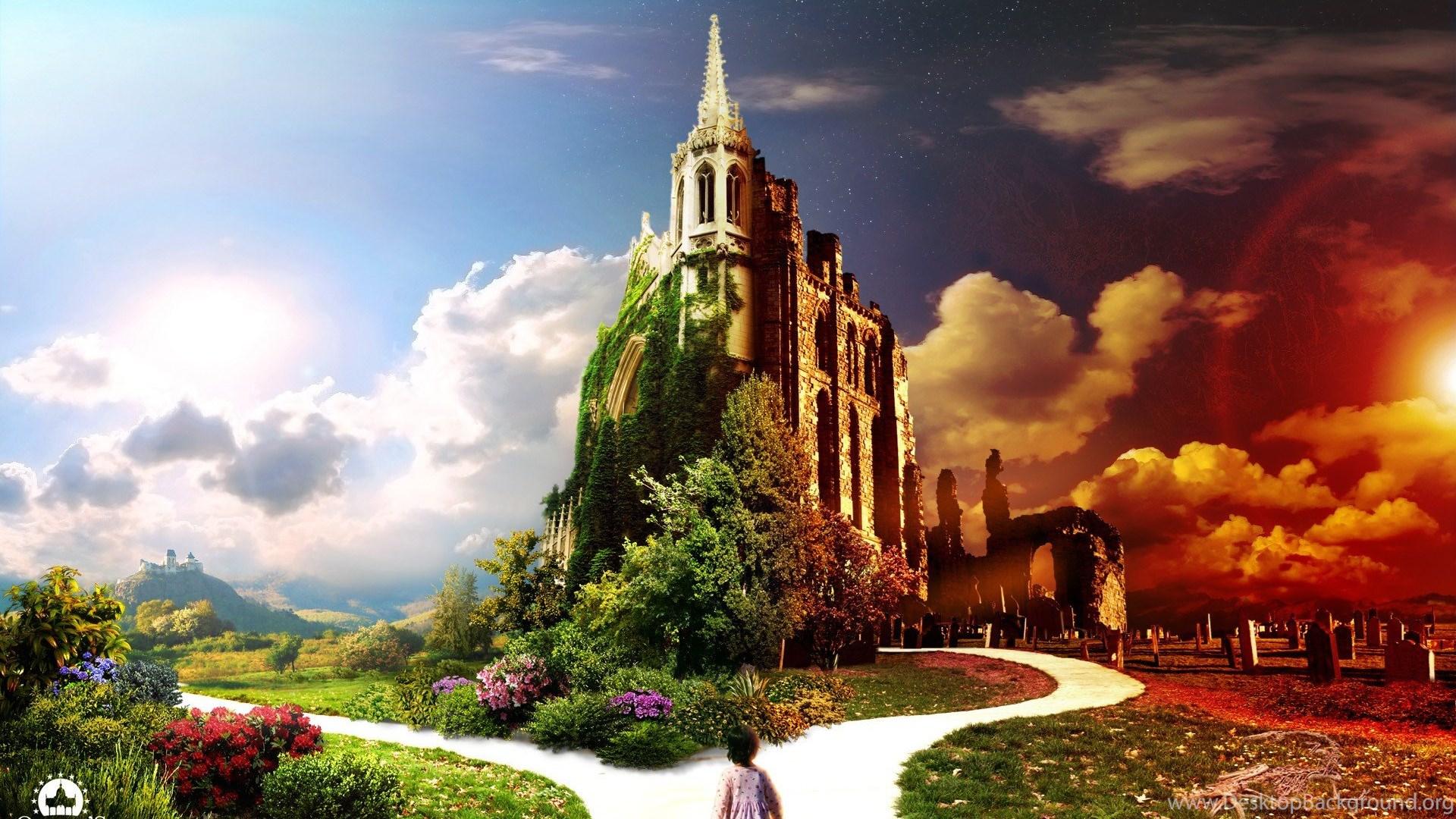Рай и ад в одной картинке