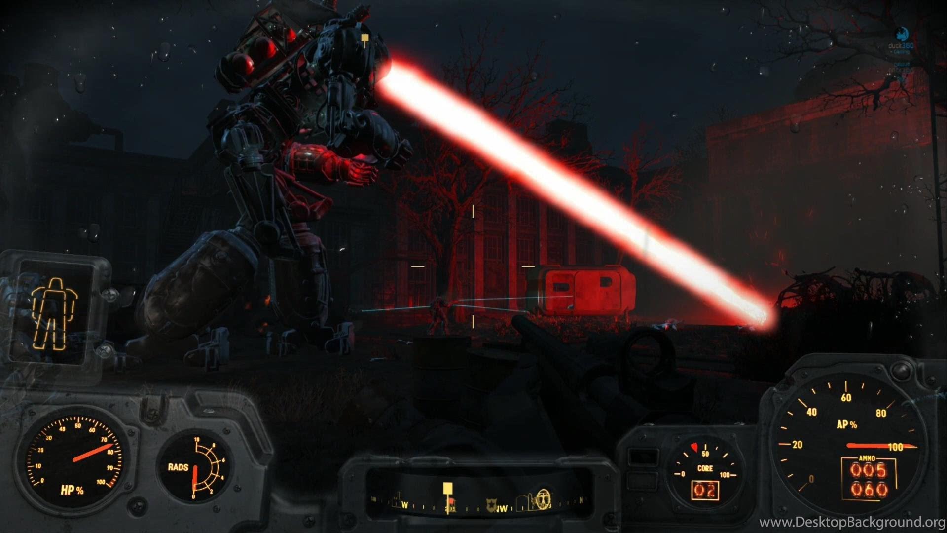 Fallout 4 Liberty Prime Brotherhood Of Steel Ending Ps4 1080p