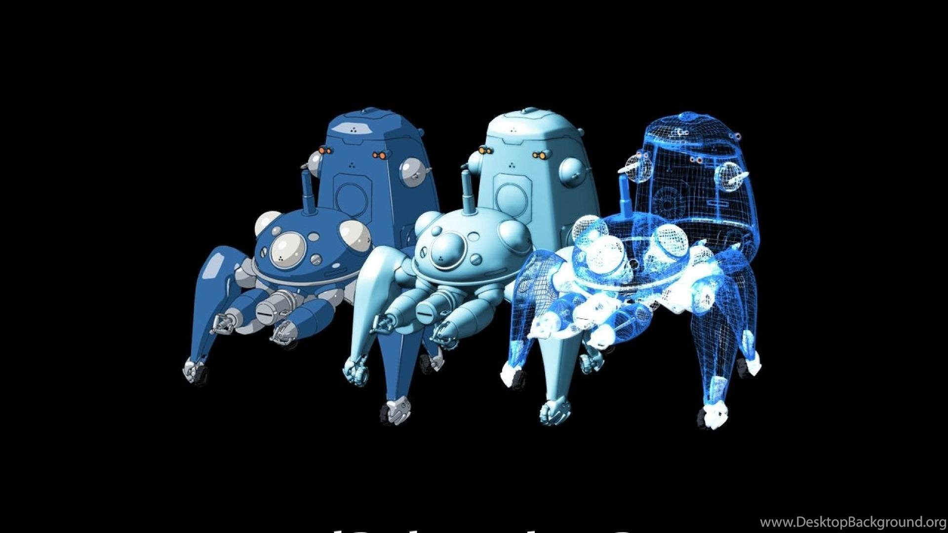 Tachikoma Ghost In The Shell Hd Wallpapers Desktop Background