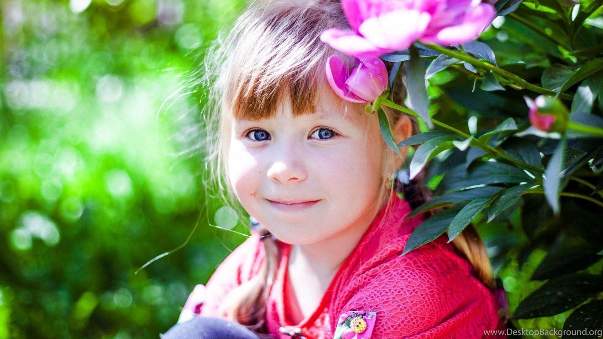 cute baby girl in pink dress wallpapers wear desktop background